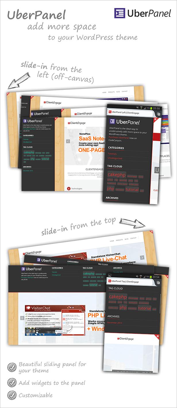 UberPanel Item-Page Visual